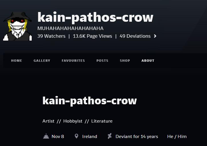 cain crow